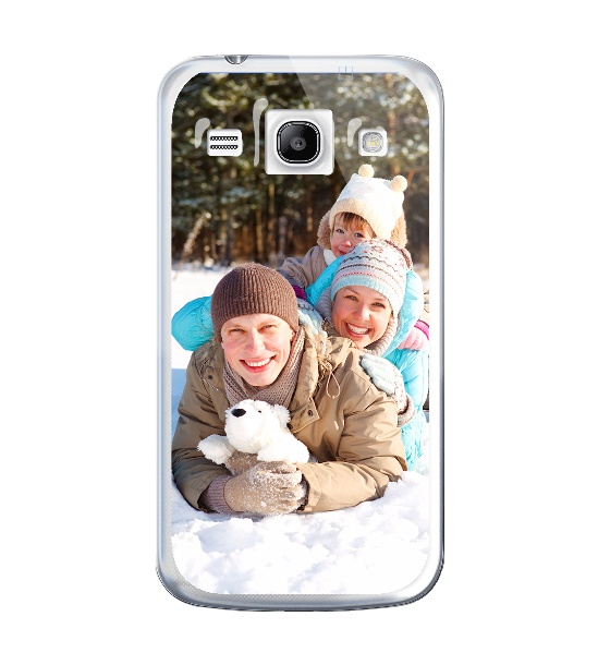 Cover personalizzate Samsung Galaxy Core Plus Coverpersonalizzate.it Morbida
